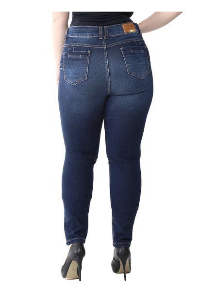 Calça Jeans Feminina Cigarrete Plus Size - 259747