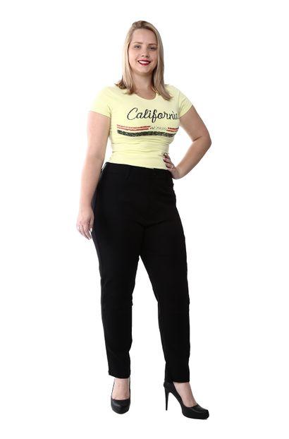 Calça Jeans Feminina Cigarrete Plus Size - 259333