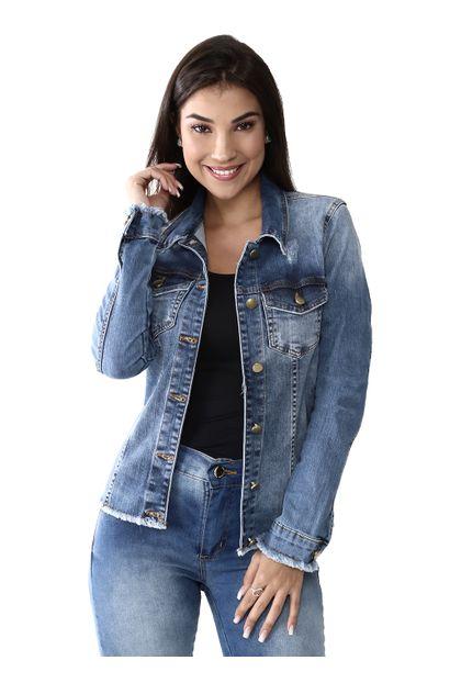 Jaqueta Jeans Feminina - 259499