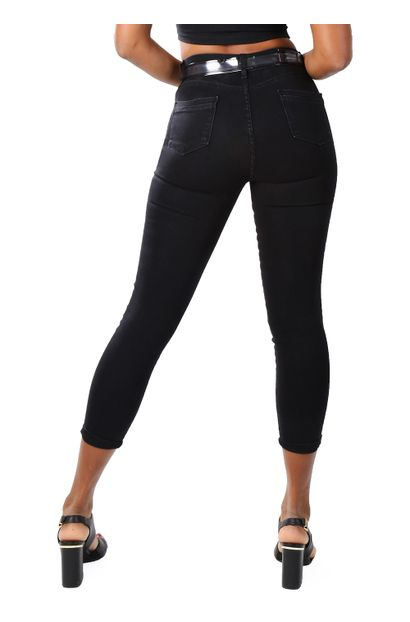 Calça Jeans Feminina Cropped - 259647