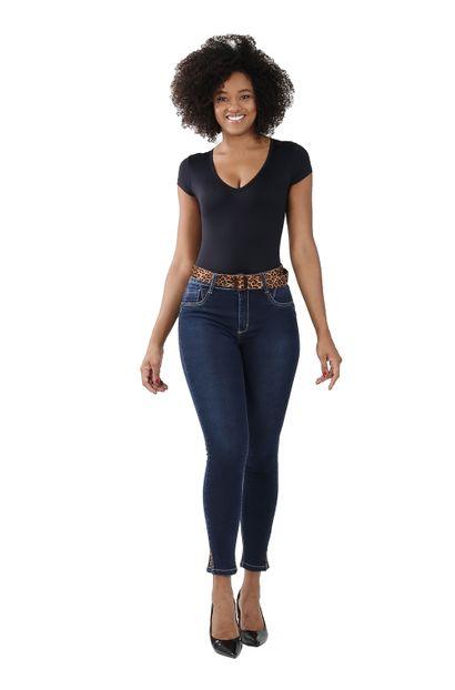 Calça Jeans Feminina Cigarrete Levanta Bumbum - 258689