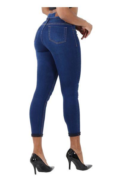 Calça Jeans Feminina Skinny Clochard - 259125