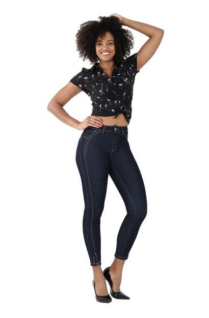 Calça Jeans Feminina Cigarrete Heart Jeans - 260081