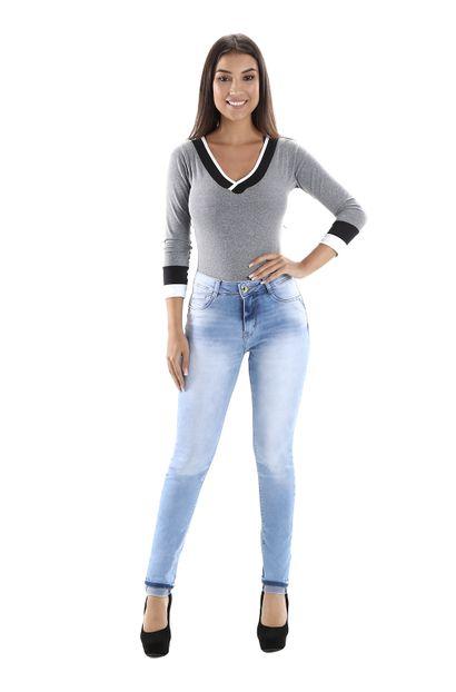 Calça Jeans Feminina Cigarrete Heart Jeans - 260196