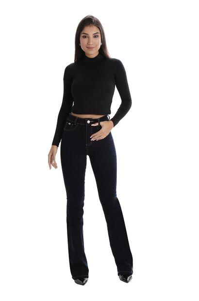 Calça Jeans Feminina Flare Super Lipo - 260158