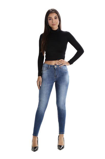 Calça Jeans Feminina Cigarrete - 260013