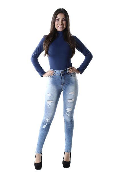Calça Jeans Feminina Clochard - 259938