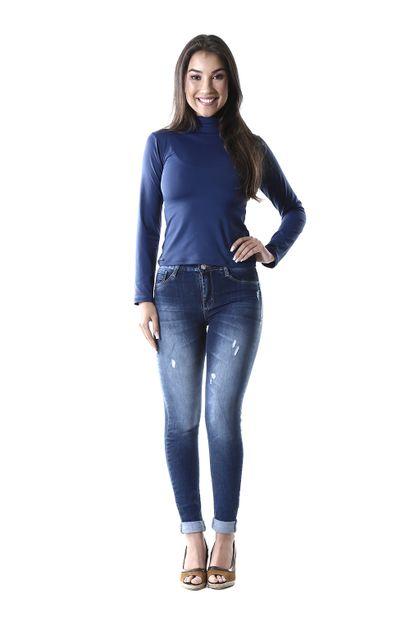 Calça Jeans Feminina Skinny Up - 260191