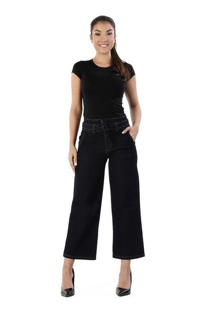 Calça Jeans Feminina Pantacourt - 260106