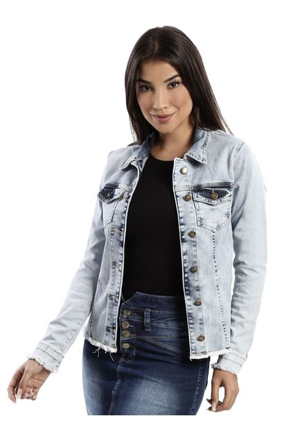 Jaqueta Jeans Feminina - 259995