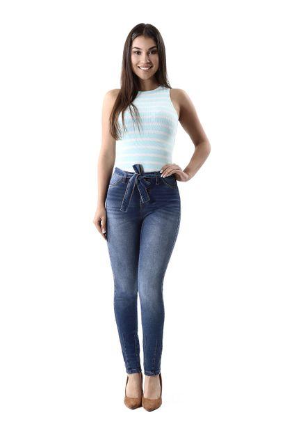Calça Jeans Feminina Cigarrete - 259796