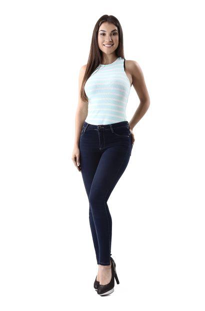 Calça Jeans Feminina Cigarrete Push Up - 260287