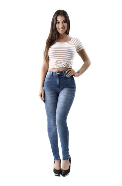 Calça Jeans Feminina Legging Super Lipo - 260250