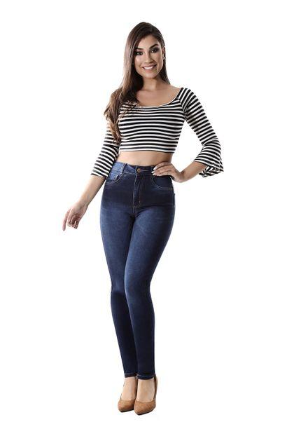 Calça Jeans Feminina Legging Super Lipo - 260226