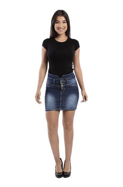 Saia Jeans Feminina - 260119