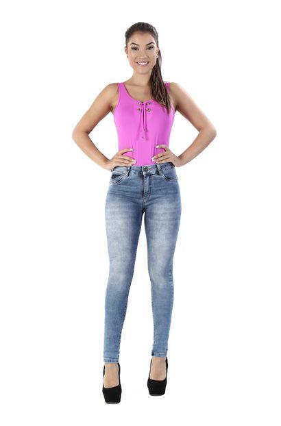 Calça Jeans Feminina Cigarrete - 260138