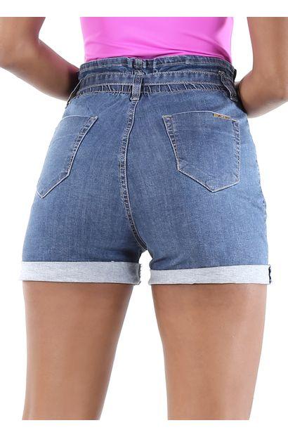 Shorts Jeans Feminino - 260307