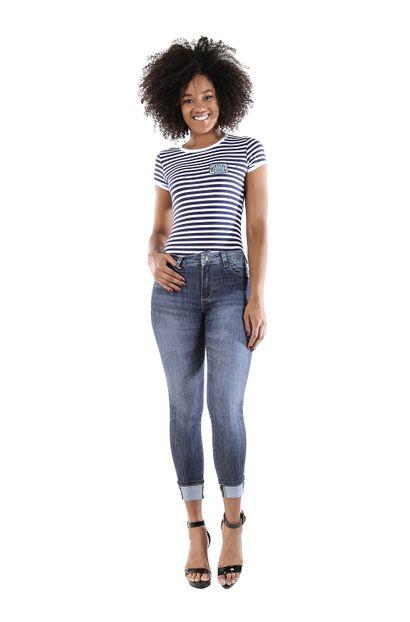 Calça Jeans Feminina Cigarrete - 260388
