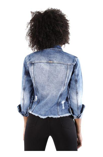 Jaqueta Jeans Feminina - 259799