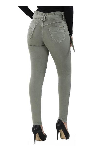 Calça Jeans Feminina Cigarrete Clochard - 260950