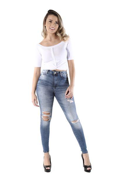 Calça Jeans Feminina Legging Super Lipo - 260426