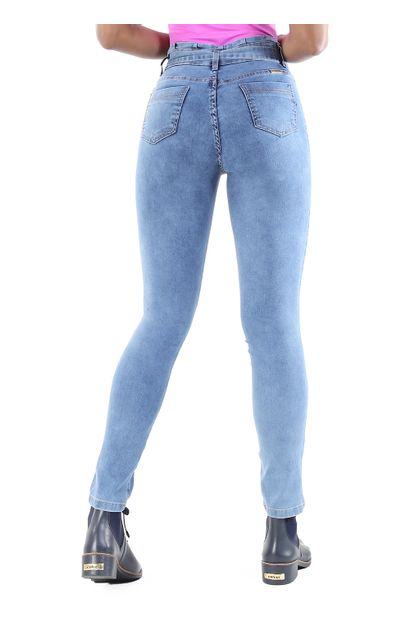 Calça Jeans Feminina Clochard - 260395