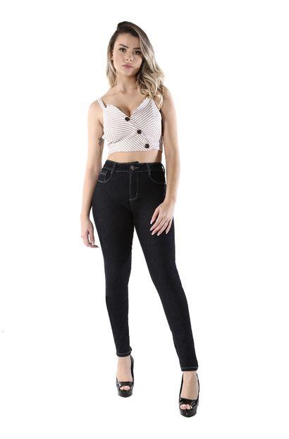 Calça Jeans Feminina Skinny Compressora - 260646
