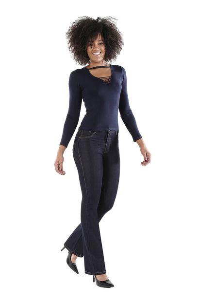 Calça Jeans Feminina Flare Boot Cut - 260708