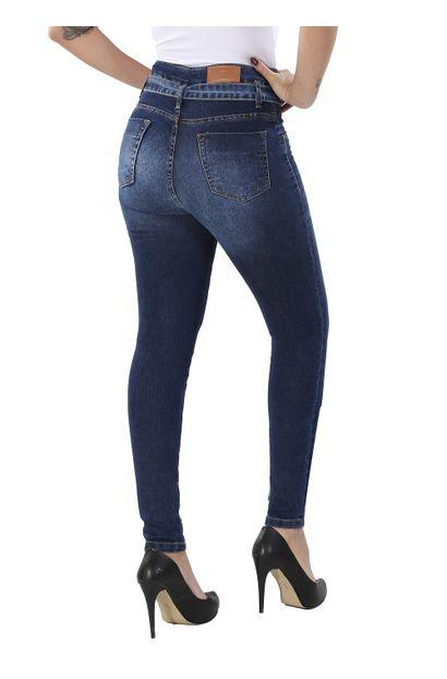 Calça Jeans Feminina Skinny Clochard - 260275