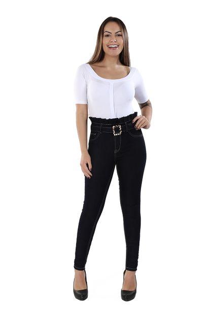Calça Jeans Feminina Skinny Clochard - 260364