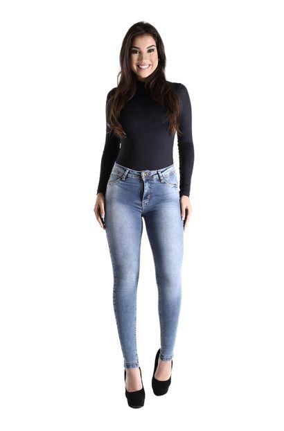 Calça Jeans Feminina Cigarrete - 260558