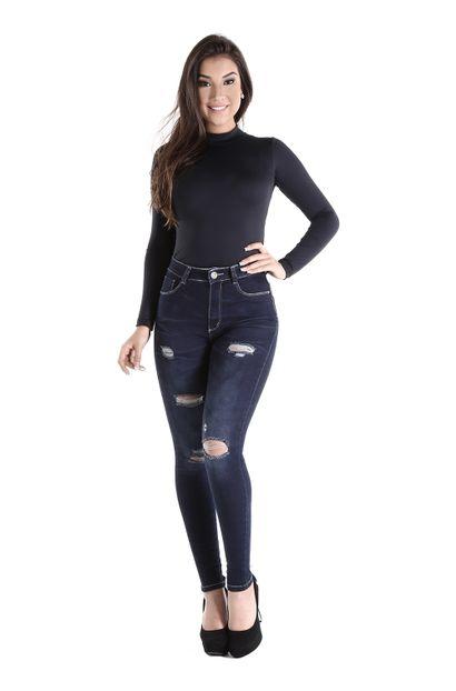 Calça Jeans Feminina Legging Super Lipo - 260487