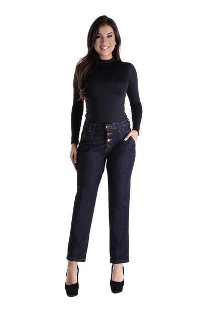 Calça Jeans Feminina Reta - 260424