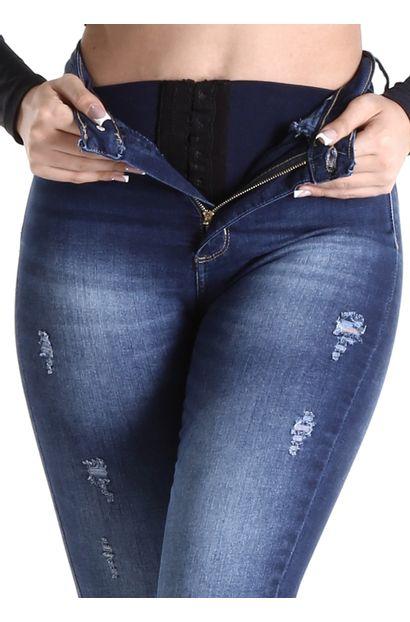 Calça Jeans Feminina Legging Super Lipo - 260484