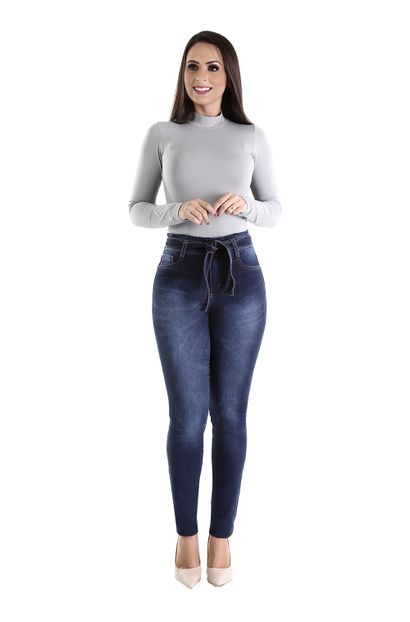 Calça Jeans Feminina Clochard - 260404