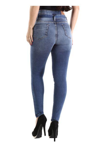 Calça Jeans Feminina Skinny Clochard - 260430