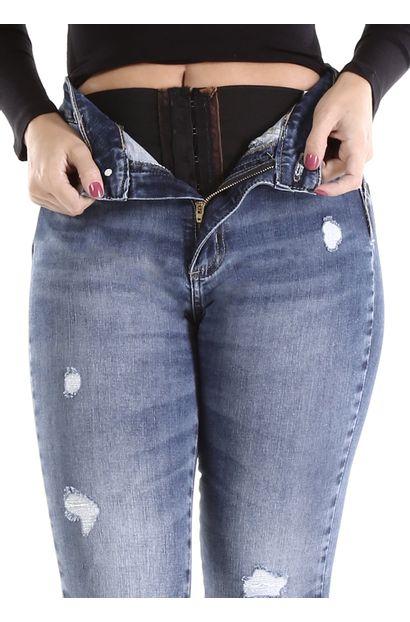 Calça Jeans Feminina Cigarrete Sculp - 260448