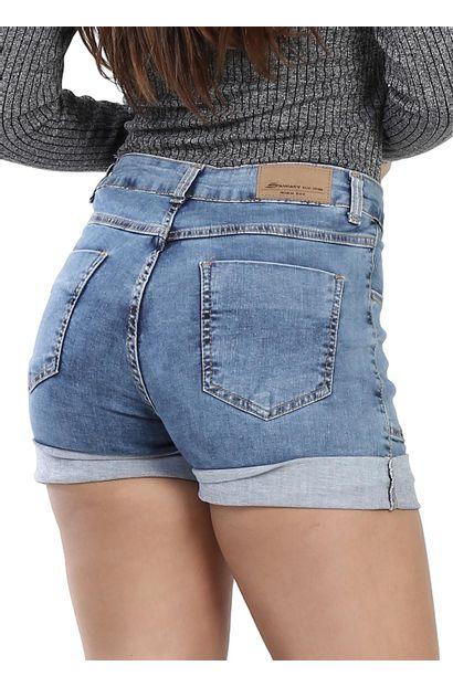 Shorts Jeans Feminino - 260874