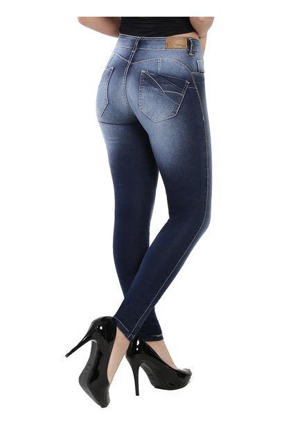 Calça Jeans Feminina Legging - 259875