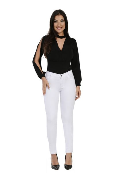 Calça Jeans Feminina Legging Hot Pants - 260586