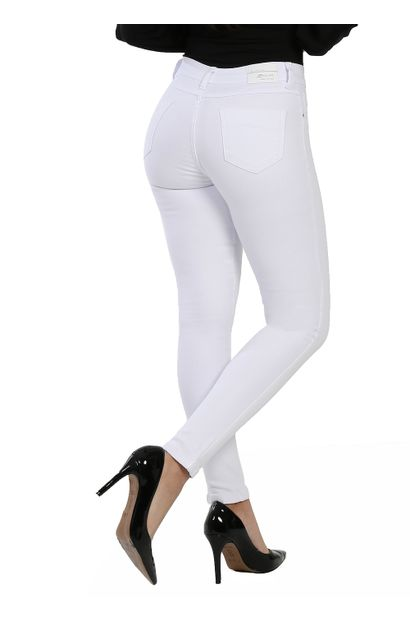 Calça Jeans Feminina Legging Hot Pants - 260586