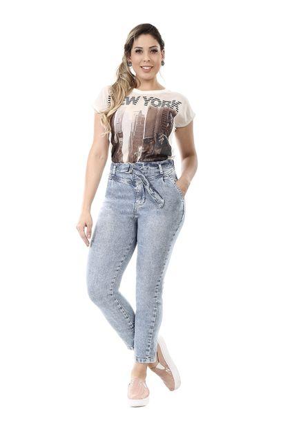 Calça Jeans Feminina Mom - 260331