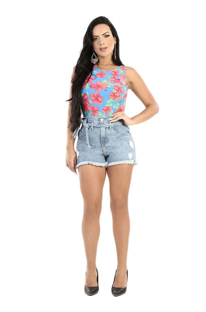 Shorts Jeans Feminino Boyfriend - 260797