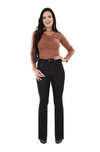 Calça Jeans Feminina Flare Super Lipo - 260709