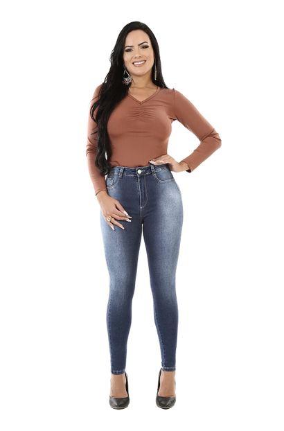 Calça Jeans Feminina Legging Super Lipo - 260553