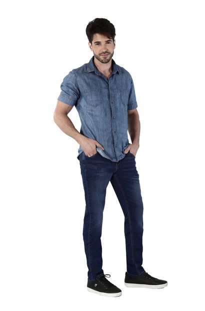 Calça Jeans Masculina Skinny Confort - 260698