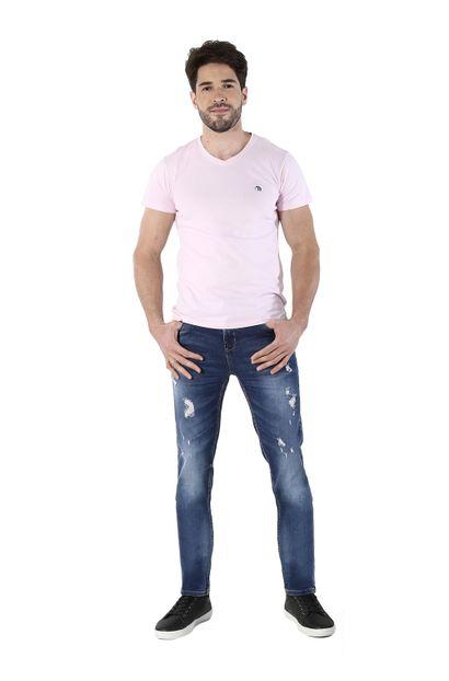 Calça Jeans Masculina Skinny Confort - 260515