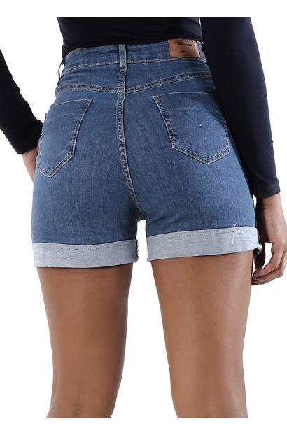 Shorts Jeans Feminino - 260423