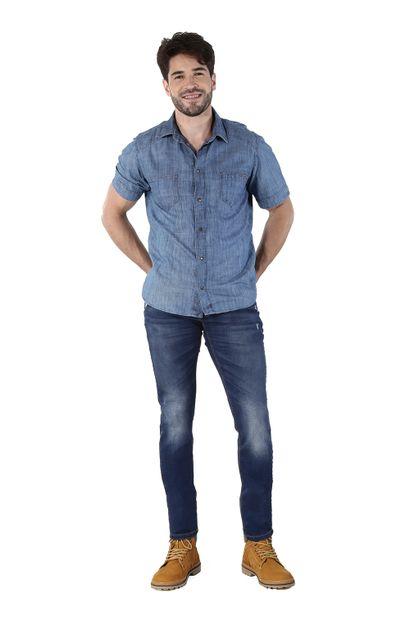 Calça Jeans Masculina Skinny Confort - 260057
