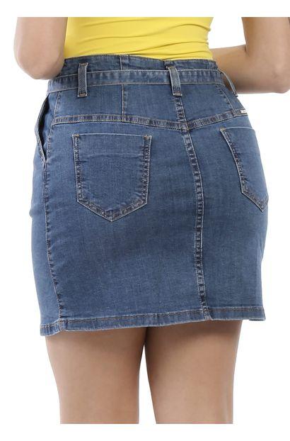 Saia Jeans Feminina - 260781
